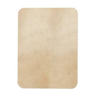 Vintager antiker Pergament-Schablonen-Papierfreier Magnet
