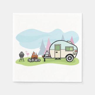 Vintager Art-Camper-Papierservietten Servietten