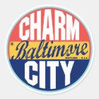 Vintager Aufkleber Baltimores