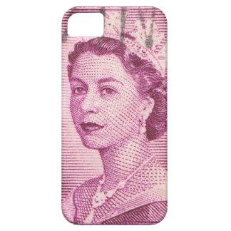 Vintager Australier der Königin-Elizabeth iPhone 5 Etuis