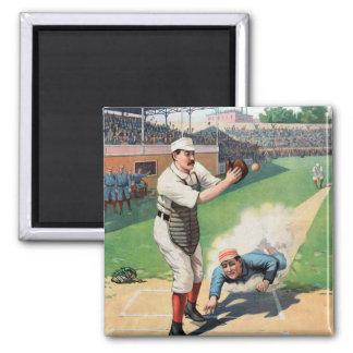 Vintager Baseball Magnets