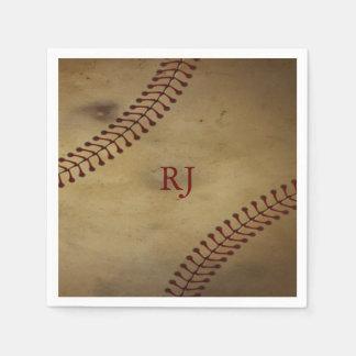 Vintager Baseball Papierservietten