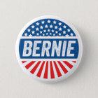 Vintager Bernie Runder Button 5,1 Cm