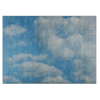 Vintager beunruhigter Wolken-Hintergrund Schneidebrett
