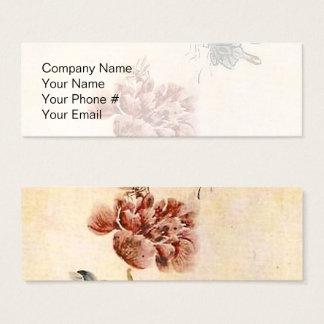 Vintager Biene, Schmetterlingund Mini Visitenkarte