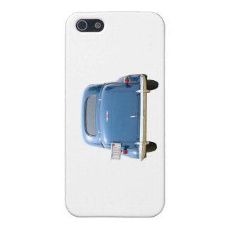 Vintager blauer Chevy iPhone 5C Kasten iPhone 5 Hülle