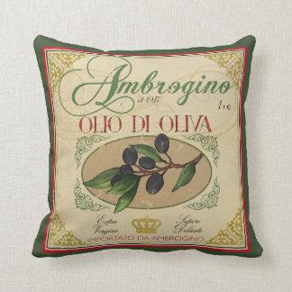 Vintager Blick italienischer Retro Kissen