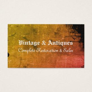 Vintager Blick - Visitenkarte