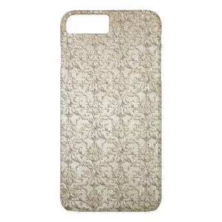 Vintager Brokat-Damast iPhone 8 Plus/7 Plus Hülle