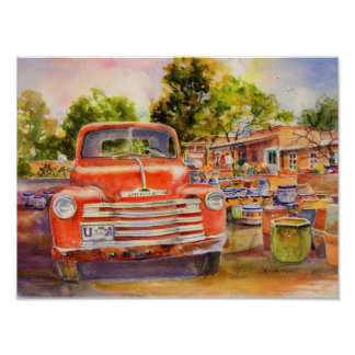 Vintager Chevy Leinwand-Druck Posterdrucke