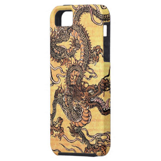 Vintager chinesischer Drache iPhone 5 Fall iPhone 5 Cover
