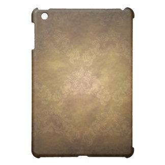Vintager Damast-Tapeten-GoldiPad Speck-Kasten iPad Mini Schale