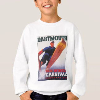 Vintager Dartmouth-Winter-Karneval Sweatshirt