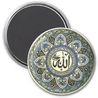 Vintager das Türkische-Entwurfs-Magnet Runder Magnet 7,6 Cm