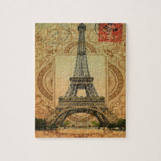 Vintager Eiffel-Turm des modernen girly