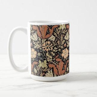 Vintager Entwurf Williams Morris Kaffeetasse