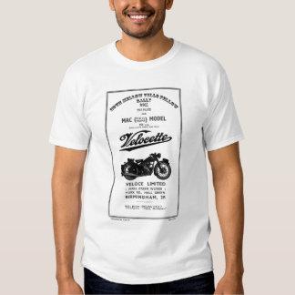 Vintager Ersatzteilliste-Buch 350cc MAC Velocette Hemden