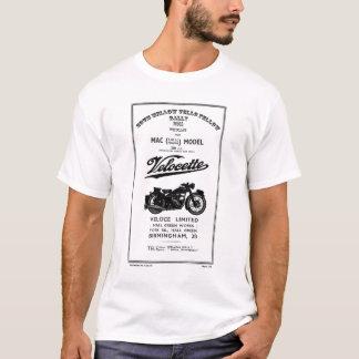 Vintager Ersatzteilliste-Buch 350cc MAC Velocette T-Shirt