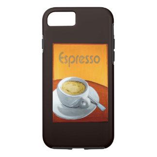 Vintager Espresso-Kaffee iPhone 7 Hülle