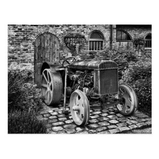 Vintager Fordson Traktor, Bredbury Hall Postkarte
