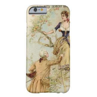 Vintager französischer romantischer Telefon-Kasten Barely There iPhone 6 Hülle