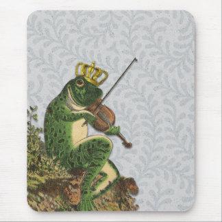 Vintager Frosch-Prinz Bezaubern Mousepad