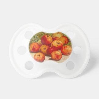 Vintager Frucht-Aufkleber-Schnuller Schnuller