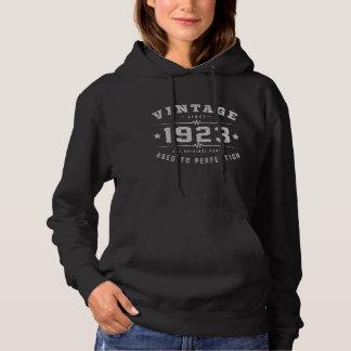 Vintager Geburtstag 1923 Hoodie