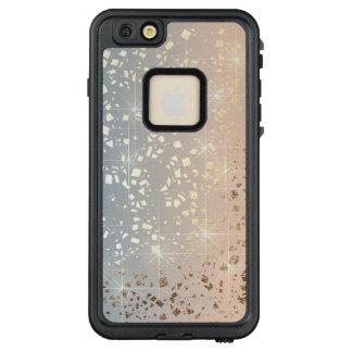 Vintager gedämpfter Goldstern-Folien-Schein des LifeProof FRÄ' iPhone 6/6s Plus Hülle