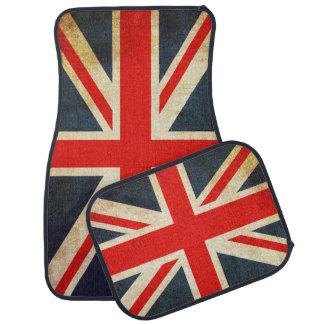 Vintager Gewerkschafts-Jack-britische Autofußmatte