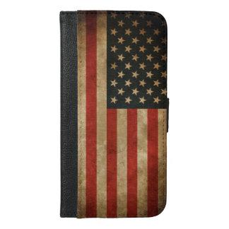 Vintager Grunge-amerikanische Flagge - USA