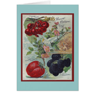 Vintager Gruß der Gärtner Karte