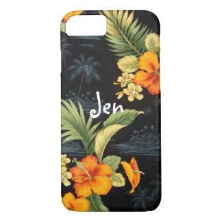 Vintager hawaiischer iPhone Fall iPhone 8/7 Hülle