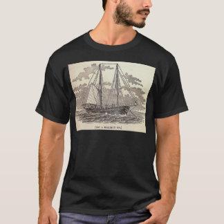 Vintager HeilbuttSchooner T-Shirt