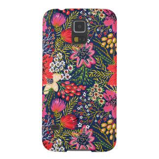 Vintager heller Blumenkasten der muster-Galaxie-S5 Samsung S5 Hüllen