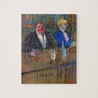 Vintager Impressionismus, das Bar durch Toulouse