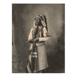 Vintager Inder: Kleiner Leiter, Arapahoe - Postkarten