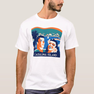 Vintager Insel-T - Shirt Sankt Catalina