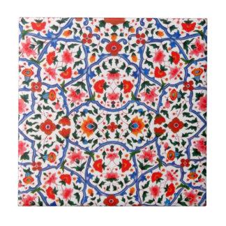 Vintager islamischer Muster-Entwurf Kleine Quadratische Fliese