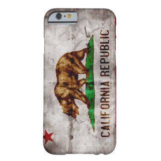 Vintager Kalifornien-Flagge iPhone 6 Fall Barely There iPhone 6 Hülle