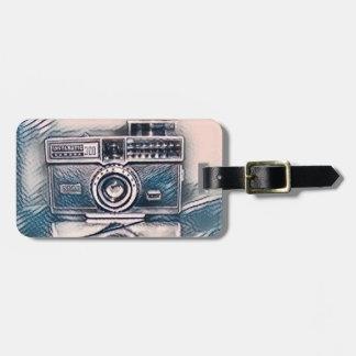 Vintager Kameragepäckumbau Kofferanhänger