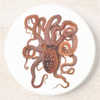 Vintager KrakeMacropus, Marinewassertiere Getränkeuntersetzer