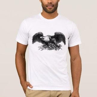 Vintager Kriegs-Adler T-Shirt