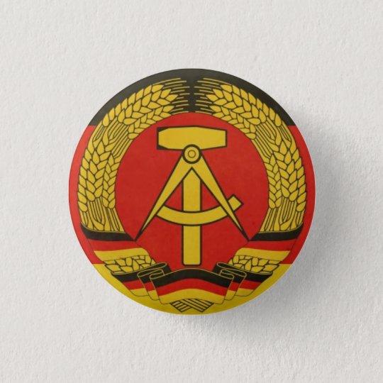 Vintager Ostdeutscher Knopf Runder Button 3,2 Cm