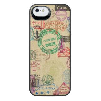 Vintager Pass-Briefmarken iPhone Batterie-Kasten iPhone SE/5/5s Batterie Hülle