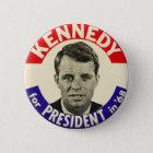 Vintager Robert Kennedy für Präsidenten Pin 1968 Runder Button 5,1 Cm