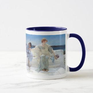 Vintager Romanticism, fragen mich nicht mehr durch Tasse
