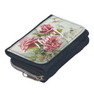 Vintager rosa Rosen-Blumenstrauß