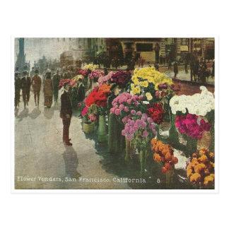Vintager San Francisco Kalifornien Postkarten