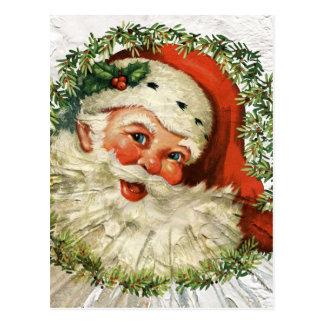 Vintager SanktGrunge Postkarte